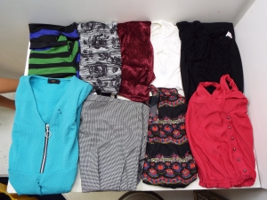 Wholesale Joblot Of 37 Mixed Womens Dresses, Rompers And Bodysuits