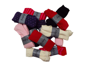 One Off Joblot of 62 Pairs of Assorted Footzy Childrens Knee Socks 1yrs-12yrs