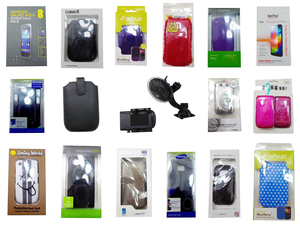 HUGE Joblot 1855 of Assorted Mobile Phone Accessories Cases/Covers/Holders
