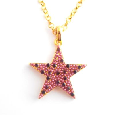 Clearance Crystal Star Matching Rings & Necklaces