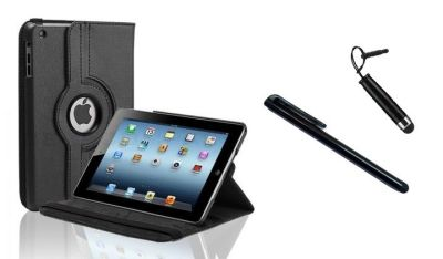 Leather iPad Case and Stand Combo