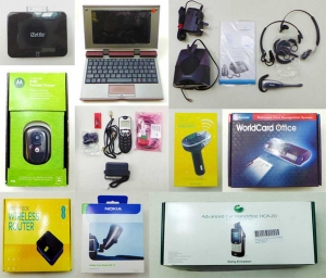 One Off Lot of 82 Assorted Mobile Phone Internet and Car Accessories Various