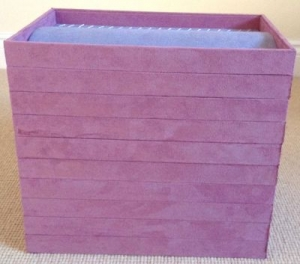 Jewellery Display Trays - Necklaces, Bracelets & Watches - Pink & Lilac