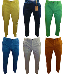 One Off Lot of 22 Pairs of Timberland Chinos Mens Straight Leg Various Colours