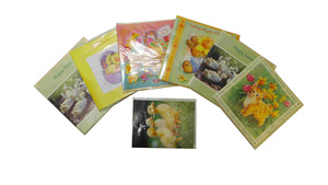 One Off Joblot Of 664 Easter Greeting Cards Seasonal Gift Shop Stock