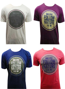 Joblot of 10 Marc O'Polo T Shirts Mens 3 Colours 'Follow Your Nature' Slogan