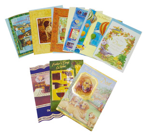 One Off Lot of Father's Day Cards Various Designs Funny Classic Inc. Envelopes