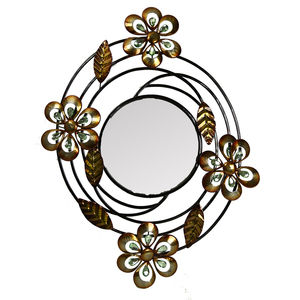 Joblot of 10 x Floral Cluster Mirrors