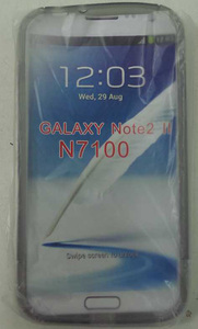 One Off Lot Of 44 Grey Soft Case For Samsung Galaxy Note 2 N7100