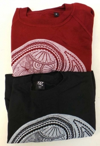 One Off Lot of 45 Yin Yang Design Crew Neck Jumpers 4 Colours Various Sizes