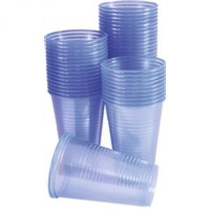One Off Joblot of 28 boxes of Water cups 20cl Blue (pk 1000) - RY92810