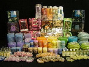 COLONY GIFT CORPORATION CLEARANCE STOCK INCLUDES CANDLES, TEA LIGHTS, PILLAR etc