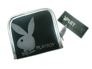 Playboy Gift CollectionPurse black/silver PA2713-BLK