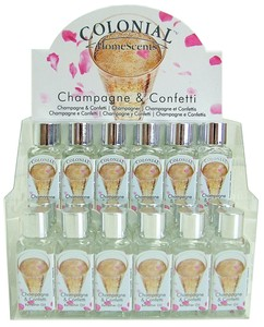 Joblot of 24 Colonial Champagne & Confetti Scented Refresher Oils