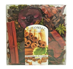 Joblot of 20 Colonial Cinnamon & Clove Scented Pot Pourri Boxes Y2194DUN