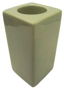 Joblot of 6 Colony Gift Corporation Square Tall Green Tealight Holders M8305